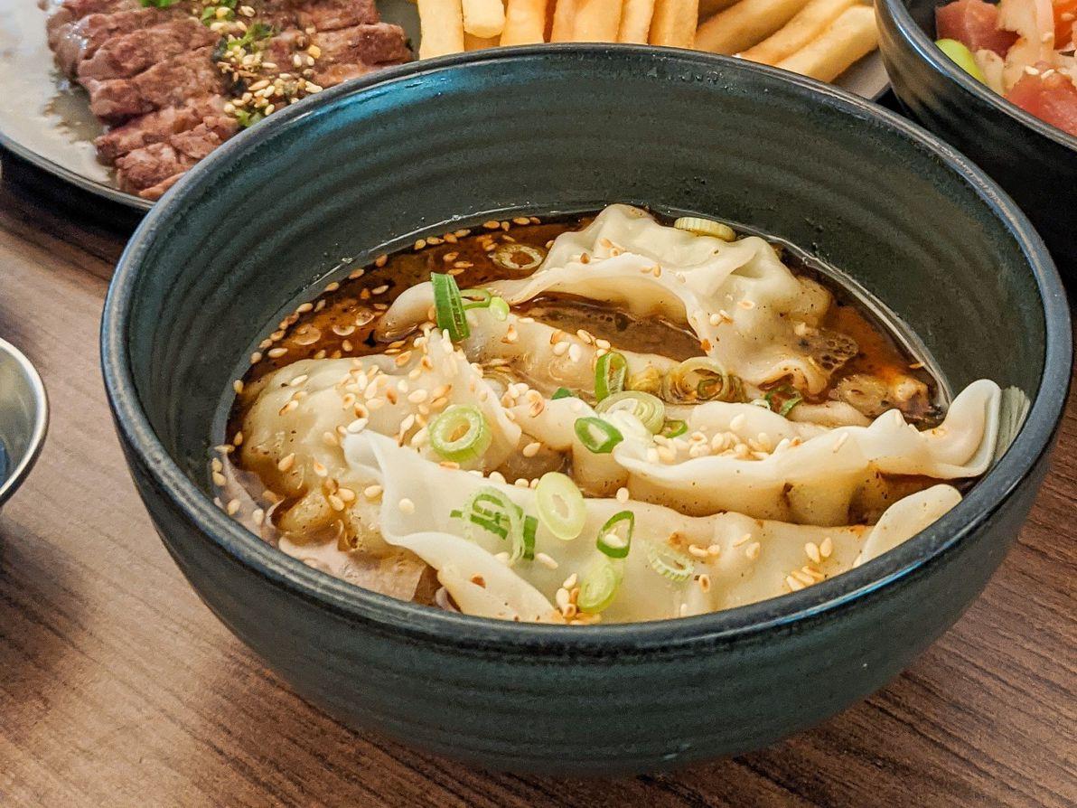 daizu cafe steamed chicken dumpling