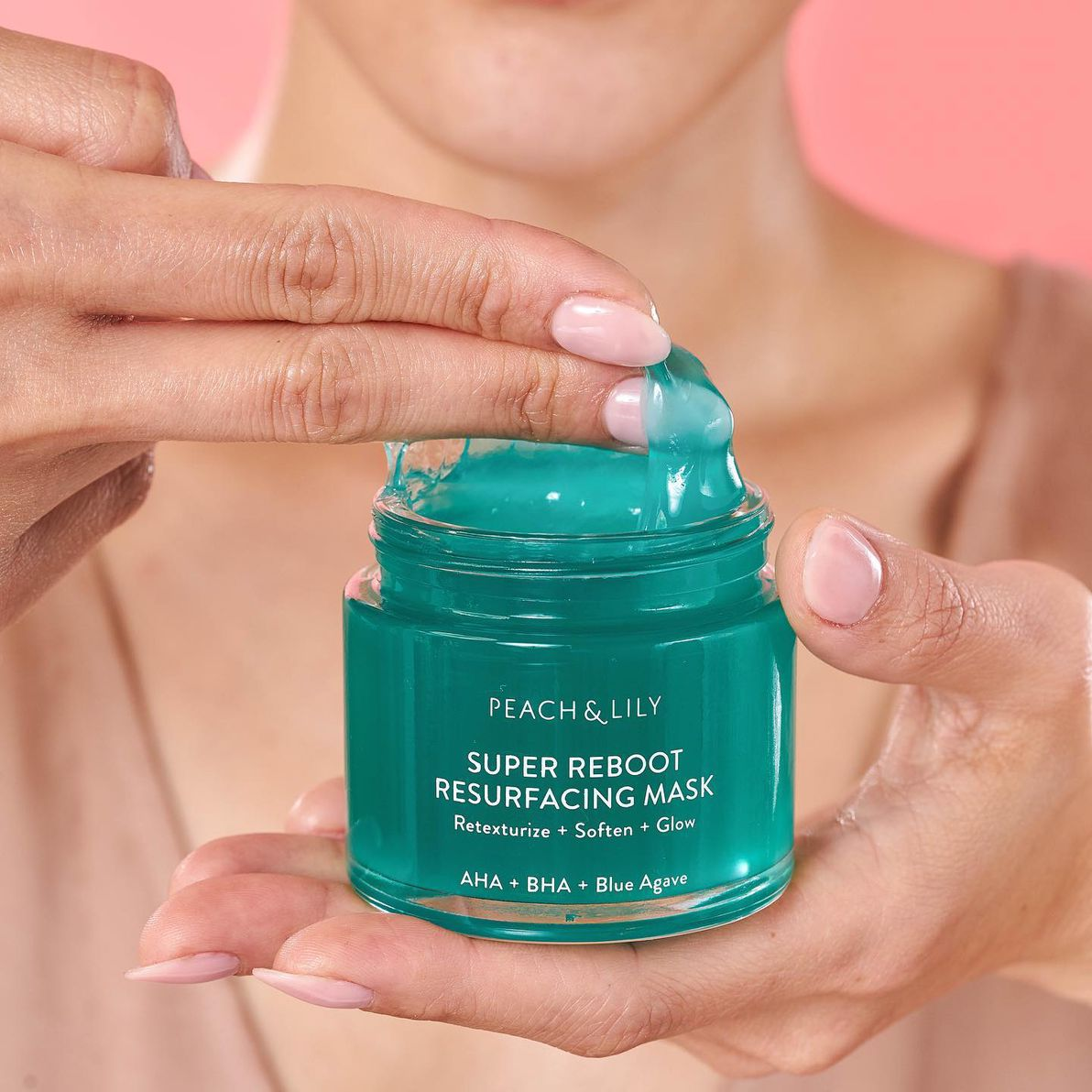 Peach and Lily super reboot resurfacing mask