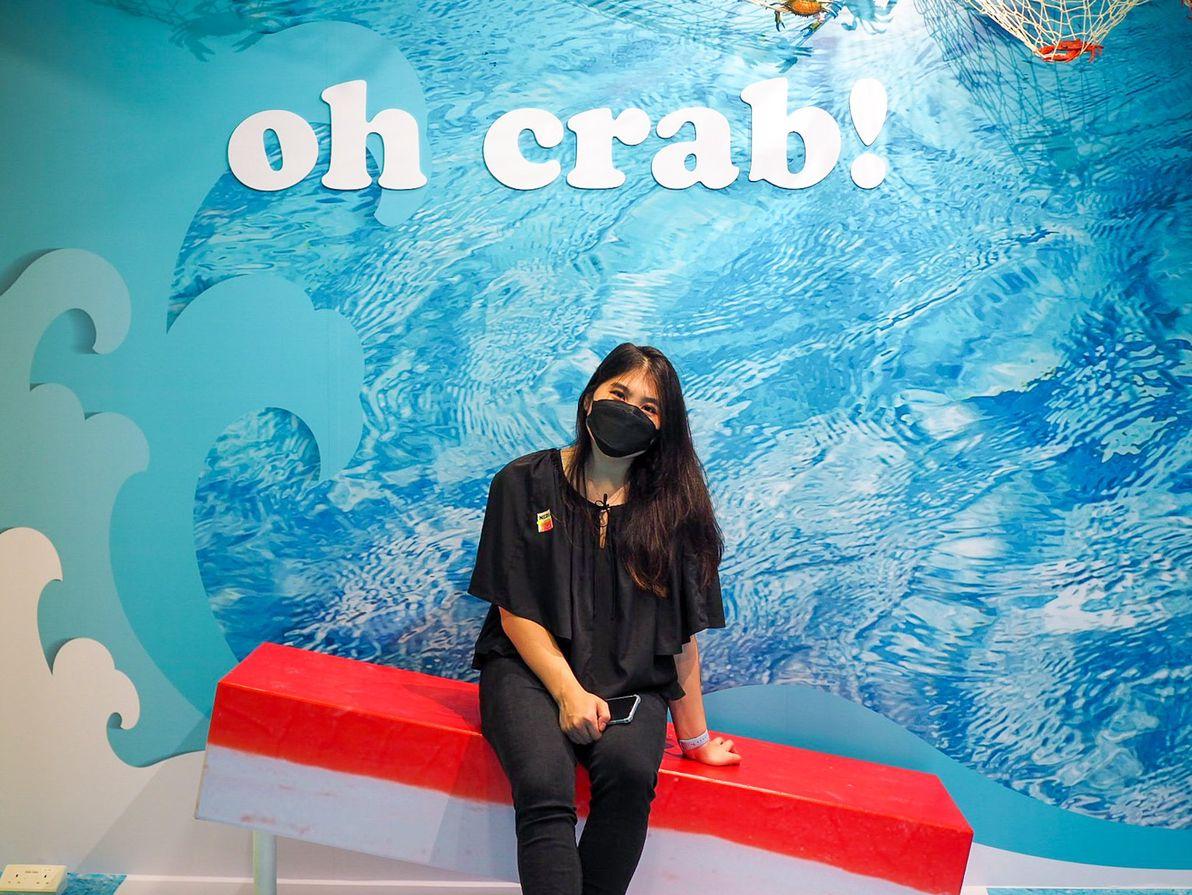 slurping good imitation crab room