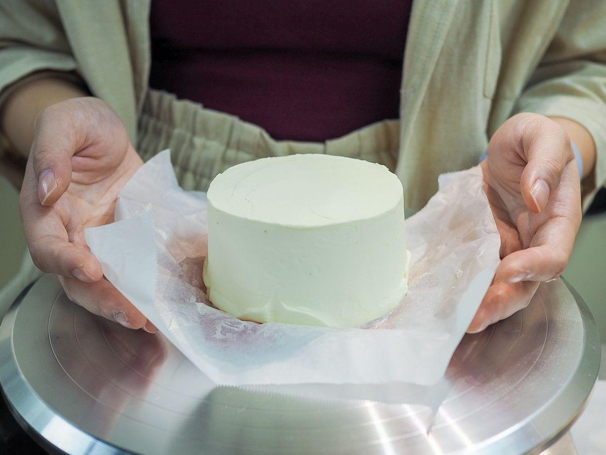 naked bento box cake